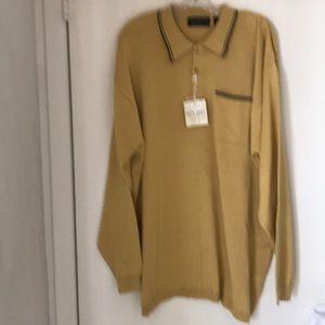 NWT men's knit sweater shirt